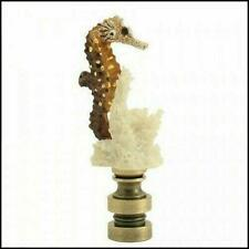 SEA  HORSE  ELECTRIC  LIGHTING  LAMP  SHADE  FINIAL