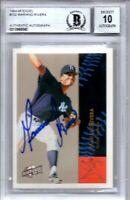 Mariano Rivera New York Yankees 1994-95 Fleer Excel Signed Card Beckett BGS 10