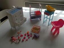 chambre d'enfant style barbie TBE