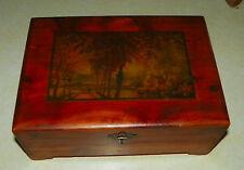 Cedar Jewelry Box / Trinket Box  (HD51)