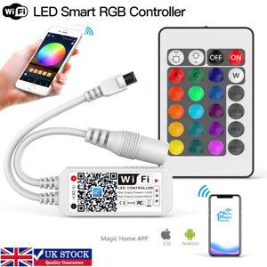 WiFi Smart LED Strip Lights Controller RGB App/Remote Control Alexa Google Home