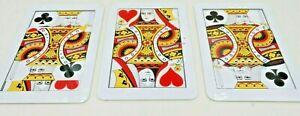 Three Card Monte by Joker Magic, mechan.  Trick,Kunststoffkarten , 18 x 11 cm