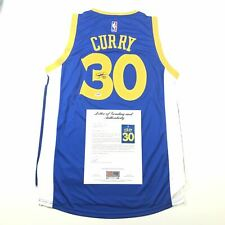 Stephen Curry signed jersey PSA/DNA Auto Grade 10 Autographed LOA