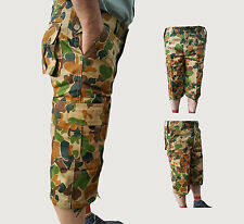 Mens shorts Cargo Army Military camouflage short. Casual camo short summer short