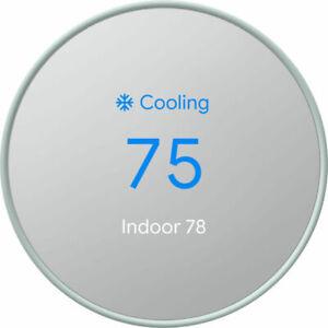Google Nest Smart Thermostat - Fog