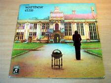 EX !! Matthew Ellis/Self Titled/1971 EMI Columbia LP/German/Procol Harum