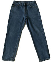 Carhartt Mens Relaxed Fit Jeans Size 34x32 Light Wash Classic Straight