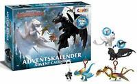 CRAZE Premium 24645 Advent Toys 2020 3 Kids Calendar How to Train Your Dragon