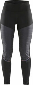 Craft SubZ Padded Tights - Black, Women's, X-Large
