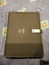 Qi Wireless Charging Power Bank Notebook With 16GB U-Disk