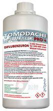 Wurmkiller für 100m³ Teichvolumen, Diflubenzuron wurmfrei, karpfenlausfrei 1L