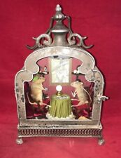 SALE!  2 Taxidermy Mice Palm Tarot Reader Anthropomorphic Lighted Display mouse