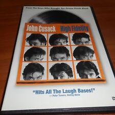 High Fidelity (Dvd, Widescreen 2000) John Cusack Used