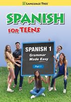 Spanish for Teens, High School Spanish 1 Part 1 (DVD, 2016)