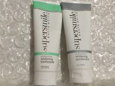 SUPERSMILE EXTRA WHITE WHITENING SYSTEM TOOTHPASTE & ACCELERATOR 7oz TRIPLE MINT