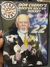 Don Cherry's Rock Em Sock Em Hockey 22 region 1 DVD (sports / hockey program)