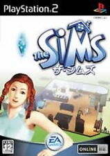 Used PS2 The Sims Import Japan