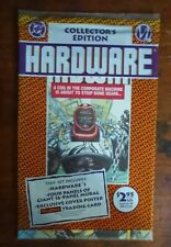Hardware #1 (DC, 1993) in original wrapper, poster & trading card