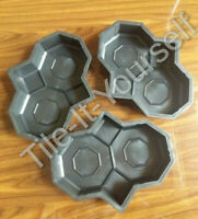 OWL CONCRETE PAVING GARDEN MOULD PATH SLAB BRICK PLASTIC FLOOR TILE MOULD STONE