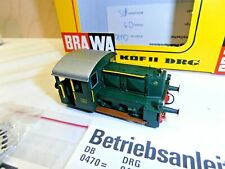 "NEW BRAWA 1/87 ART.0470.7 LOCOMOTIVA DIESEL FS ""KOF"" D 213-917 BOX ORIGINALE"