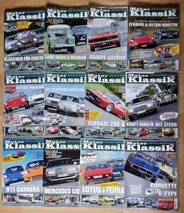 Motor Klassik Jahrgang 2007 komplett Hefte 1-12 Zeitschrift Automobile Oldtimer