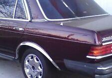 "1972-1985 Mercedes W123 2"" Chrome Wheel Well Opening Moldings Fender Trim"