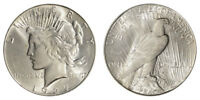 1927-S Peace Dollar Brilliant Uncirculated - BU