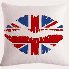 Union Jack Lips Cushion Covers