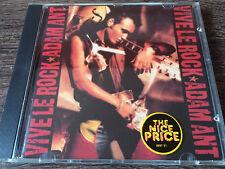 ADAM ANT - Vive Le Rock CD New Wave / Adam & The Ants