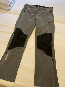 WANDERHOSE, Salewa, lang, grau schwarz, Gr. 21 (Kurzgröße), getragen