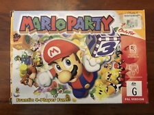MARIO PARTY 1- N64 BOXED- COMPLETE- PAL NINTENDO 64