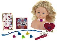 Princess Coralie - cabeza para maquillar y peinar regular (theo Klein 5236)