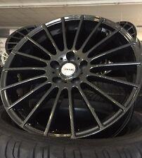 4 neue Alu Avus Ac-m03 schwarz Carbon 8x18 5/112 Et 35 AUDI Q3