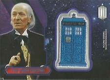 """Topps Doctor Who 2015 - """"The First Doctor"""" PURPLE Tardis Patch Card #58/99"""