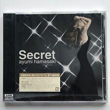 AYUMI HAMASAKI (浜崎あゆみ) Secret [AVCD-23179] Japan Import First Press Album New