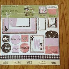 My Mind's Eye Dee's Designs Colorful Moods Kit - Wild