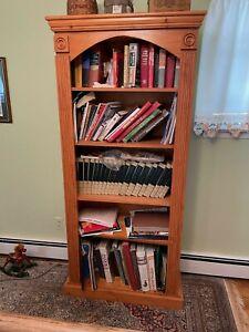 Amish-style Bookcase! Book Shelves! Bookshelf! Bookshelves!
