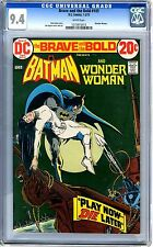 Brave and the Bold   #105   CGC   9.4   NM   White pages  1-2/73   Wonder Woman