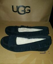I heart ugg slippers shoes juniors girl size 4 Lily Model 1013574 Black