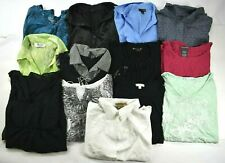 Wholesale Lot of 13 Women's Large Casual Wear Blouses Mixed Seasons Tops