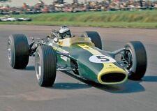 New listing Jim Clark, 1967 British Grand Prix, A4 Unmtd Photo
