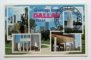 Dallas Texas 1981 Postcard