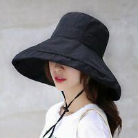 Chapeau De Soleil à Large Bord Chapeau De Panama D'été Pour Femme Protection UV