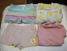 Lot of 4 Baby Girl Clothes - Various Brands SZ 9 Months