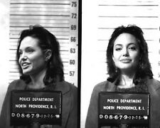 1988 ANGELINA JOLIE Mugshot Glossy 8x10 Photo Movie Actress Print Poster