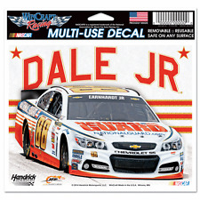 """2014 DALE EARNHARDT JR  #88 CHEVY SS 5"""" X 6"""" NASCAR MULTI-USE DECAL"""