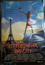 1994 Little Indian, Big City Original Movie Poster Double Sided Rolled