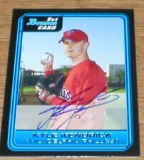 Cubs Kyle Kendrick RC Autographed Card