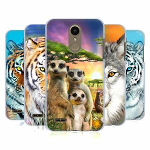 OFFICIAL AIMEE STEWART ANIMALS BACK CASE FOR LG PHONES 1