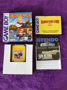 DONKEY KONG LAND III 3 Pal Esp Completo Buen estado Nintendo GAMEBOY